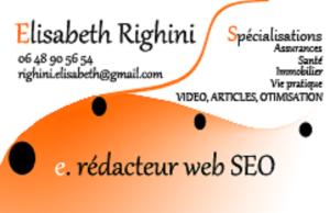 Elisabeth Righini, e-reporter-santé Rédactrice web SEO Copywriting storytelling