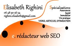 Elisabeth Righini e-reporter-santé, Rédactrice web SEO Copywriter Storytelling