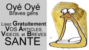 Vos articles santé : alimentation, détente, actualités croustillantes, vie pratique, bien être